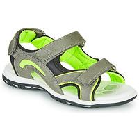 Sapatos Rapaz Sandálias desportivas Chicco CEDDER Cinza / Verde
