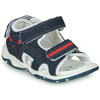 Sapatos Rapaz Sandálias desportivas Chicco COLBY Azul / Vermelho
