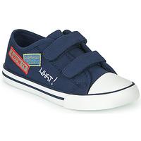 Sapatos Rapaz Sapatilhas Chicco COCOS Marinho / Branco