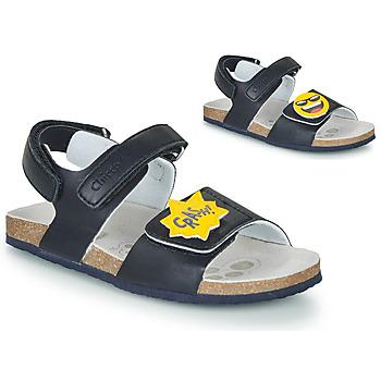 Sapatos Rapaz Sandálias Chicco HAZEL Azul / Amarelo