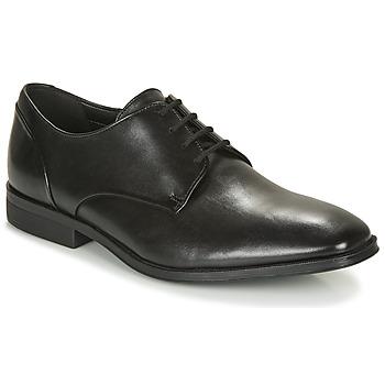 Sapatos Homem Sapatos Clarks GILMAN PLAIN Preto