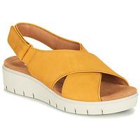 Sapatos Mulher Sandálias Clarks UN KARELY SUN Mostarda
