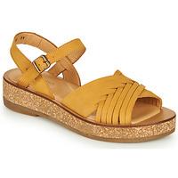 Sapatos Mulher Sandálias El Naturalista TÜLBEND Amarelo