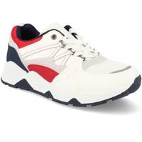 Sapatos Homem Sapatilhas Tony.p BL-31 Blanco