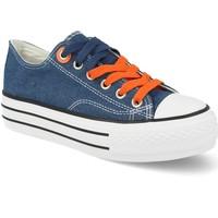 Sapatos Mulher Sapatilhas Tony.p BL-37 Azul