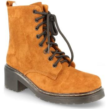 Sapatos Mulher Botas Buonarotti 2AD-9432 CAMEL