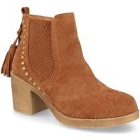 Sapatos Mulher Botins H&d YZ19-19 Camel