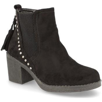 Sapatos Mulher Botins H&d YZ19-19 Negro