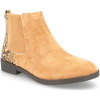 Sapatos Mulher Botins H&d YZ19-28 Camel
