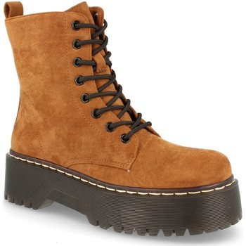 Sapatos Mulher Botas baixas Buonarotti 2AD-9353 Camel