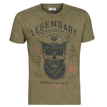 Textil Homem T-Shirt mangas curtas Casual Attitude MCOOL Cáqui
