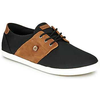 Sapatos Homem Sapatilhas Faguo CYPRESS Preto / Castanho