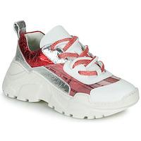 Sapatos Mulher Sapatilhas Fru.it  Branco / Vermelho / Prata
