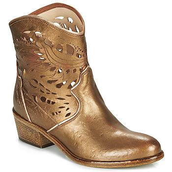 Sapatos Mulher Botins Fru.it COWGOLD Bronze