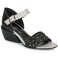 Sapatos Mulher Sandálias Fru.it  Preto / Branco