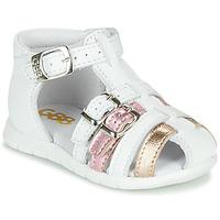Sapatos Rapariga Sandálias GBB PERLE Branco