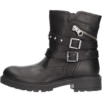 Sapatos Rapaz Botas baixas Nero Giardini - Bikers nero A931322F-100 NERO