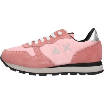 Sapatos Rapaz Sapatilhas Sun68 - Ally solid rosa Z29402 P-04 ROSA