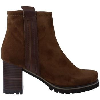 Sapatos Mulher Botins Pedro Miralles 25841 Botines de Mujer castanho