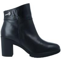 Sapatos Mulher Botins Wonders M-3731 Botines Dry de Mujer Preto