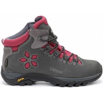 Sapatos Mulher Sapatos de caminhada Chiruca Botas  Monique 08 Goretex Cinza