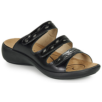 Sapatos Mulher Chinelos Romika IBIZA 66 Preto