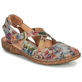 Sapatos Mulher Sandálias Josef Seibel ROSALIE 13 Cinza / Multicolor