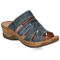 Sapatos Mulher Chinelos Josef Seibel CATALONIA 49 Azul