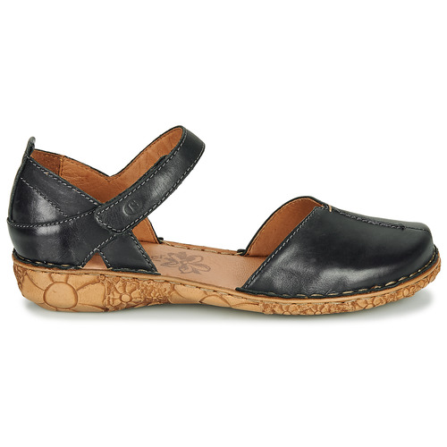 Josef Seibel ROSALIE 42 Preto - Entrega gratuita  - Sapatos Sandálias Mulher 7200