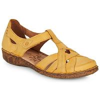 Sapatos Mulher Sandálias Josef Seibel ROSALIE 29 Amarelo