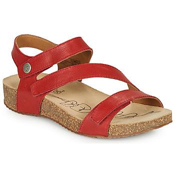 Sapatos Mulher Sandálias Josef Seibel TONGA 25 Vermelho