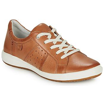 Sapatos Mulher Sapatilhas Josef Seibel CAREN 01 Camel