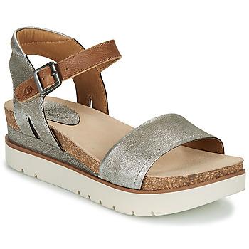 Sapatos Mulher Sandálias Josef Seibel CLEA 01 Prata