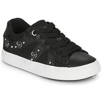 Sapatos Rapariga Sapatilhas Geox J KILWI GIRL Preto