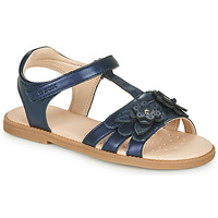 Sapatos Rapariga Sandálias Geox J SANDAL KARLY GIRL Marinho
