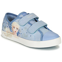 Sapatos Rapariga Sapatilhas Geox JR CIAK GIRL Azul