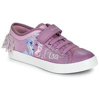 Sapatos Rapariga Sapatilhas Geox JR CIAK GIRL Violeta
