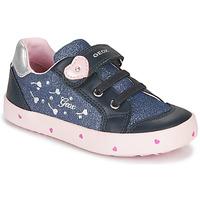Sapatos Rapariga Sapatilhas Geox B KILWI GIRL Azul / Rosa