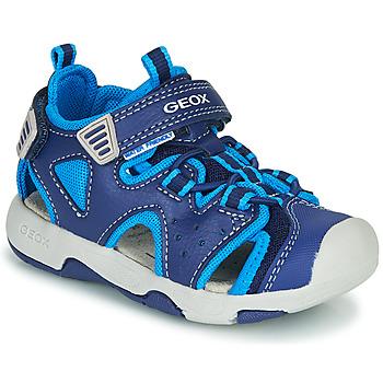 Sapatos Rapaz Sandálias desportivas Geox B SANDAL MULTY BOY Azul
