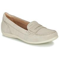 Sapatos Mulher Mocassins Geox D YUKI Bege