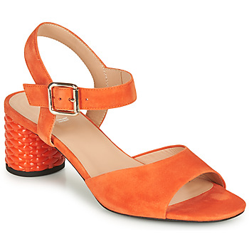 Sapatos Mulher Sandálias Geox D ORTENSIA MID SANDA Laranja