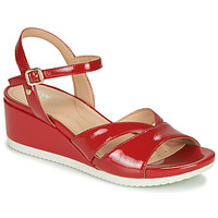 Sapatos Mulher Sandálias Geox D ISCHIA Vermelho