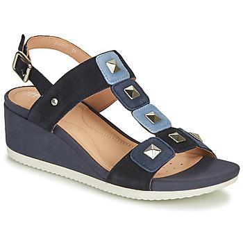 Sapatos Mulher Sandálias Geox D ISCHIA Azul