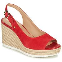 Sapatos Mulher Sandálias Geox D PONZA Vermelho