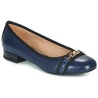 Sapatos Mulher Sabrinas Geox D WISTREY Marinho / Preto