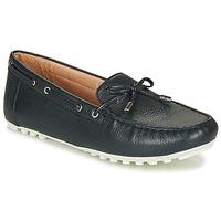 Sapatos Mulher Mocassins Geox D LEELYAN Azul / Marinho