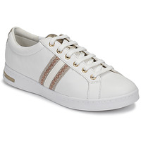 Sapatos Mulher Sapatilhas Geox D JAYSEN Branco / Ouro