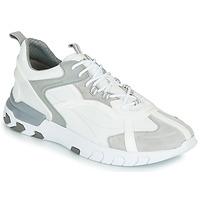 Sapatos Homem Sapatilhas Geox U GRECALE Branco / Cinza