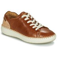 Sapatos Mulher Sapatilhas Pikolinos MESINA W6B Castanho / Bege