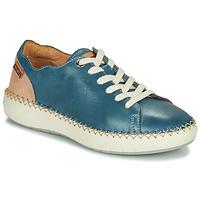 Sapatos Mulher Sapatilhas Pikolinos MESINA W6B Azul / Rosa